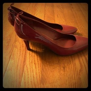 Ralph Lauren Patent Leather Heels